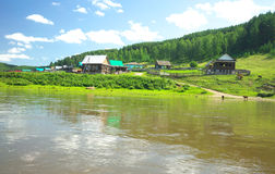 Hay River. Russia, South Ural. Royalty Free Stock Images