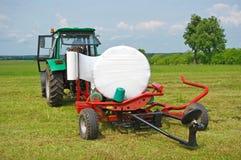 Hay in rolls Stock Images