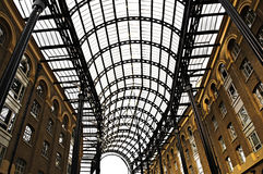 Hay's Galleria roof Royalty Free Stock Photography