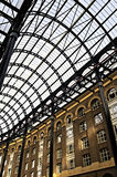 Hay's Galleria roof Stock Images
