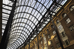 Hay's Galleria roof Royalty Free Stock Photo
