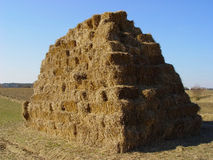 Hay stack #2 Royalty Free Stock Photo