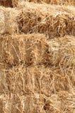 Hay stack bales Stock Image