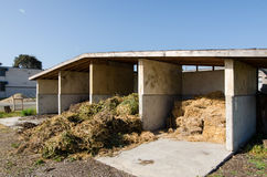 Hay storage shed Royalty Free Stock Photography