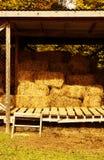 Hay storage. Stock Image