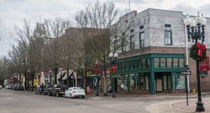 Hay Street a Fayetteville immagine stock