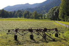 Hay Swather Images stock