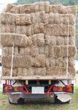 Hay Truck Stock Foto's