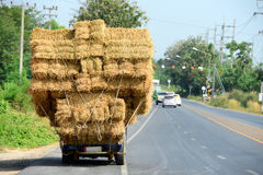 Hay Truck Royalty Free Stock Photo