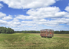 Hay Wagon Stock Photos