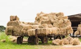 Hay wagon Royalty Free Stock Photography