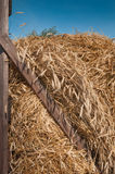 Hay Wagon Closeup Royalty Free Stock Photography
