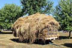 Hay wagon Stock Image
