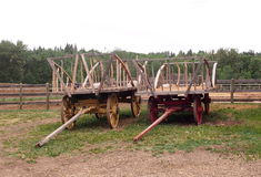 Hay Wagons Royalty Free Stock Image