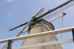 Hay wind mill taken upwards Stock Photography