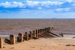 Haya del punto de la cabeza de Spuen y Mar del Norte imagen de archivo libre de regalías