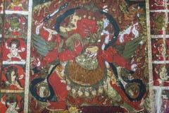 Hayagriva, wrathful форма Avalokitesvara, Chenrezik, Бутан стоковое фото rf