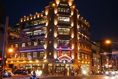 Hayashi Department Store em Tainan Imagens de Stock Royalty Free