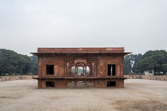 The Hayat Bakhsh Bagh is in the northeast part of the Red Fort complex in New Delhi, India. Stock Photos