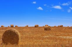 Haybales #1 Stock Photos