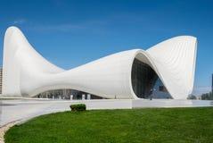 Haydar Aliyev Centre diseñó por el arquitecto Zaha Hadid Imagen de archivo libre de regalías