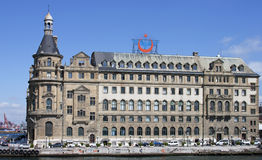 Haydarpasa Terminus railstation Royalty Free Stock Photos