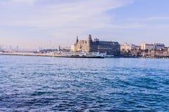 Haydarpasa历史火车站-伊斯坦布尔 免版税图库摄影