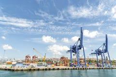 Haydarpasa,伊斯坦布尔,土耳其港  库存图片