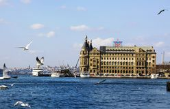 Haydarpasa Royalty Free Stock Photos