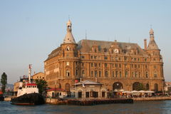 Haydarpasa Bahnstation Istanbul die Türkei Lizenzfreie Stockfotografie