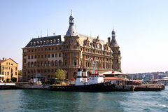 Haydarpasa building Stock Photography