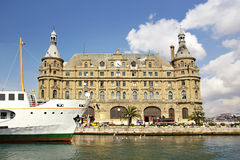 Haydarpasa building Royalty Free Stock Images