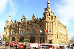 Haydarpasa building Royalty Free Stock Photos