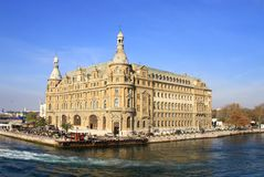 Haydarpasa building Stock Photo