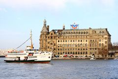 Haydarpasa Central Station Royalty Free Stock Photo