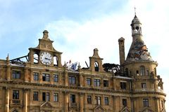 Haydarpasa Central Station Royalty Free Stock Photos