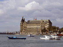 Haydarpasa central station building Istanbul - Turkey Stock Images