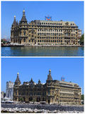 Haydarpasa central station building, Turkey Royalty Free Stock Image
