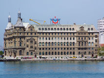 Haydarpasa central station building, Turkey Stock Photography