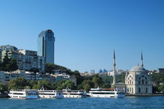 Haydarpasa - estação de trem Istambul Fotos de Stock Royalty Free