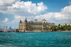 Haydarpasa hamn, Istanbul, Turkiet Royaltyfri Bild