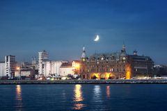 Haydarpasa Harbor Stock Photography