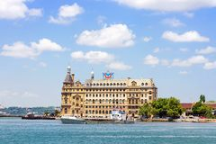 Haydarpasa in Istanbul, Turkey Royalty Free Stock Photo