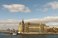 Haydarpasa, Istanbul, Turquie Images libres de droits