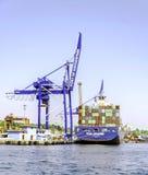 Haydarpasa port, Istanbuł Zdjęcia Stock
