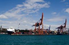 Haydarpasa Port, Istanbul Royalty Free Stock Photo