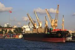Haydarpasa Port morski Zdjęcia Royalty Free
