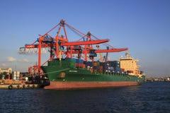 Haydarpasa Port morski Fotografia Stock