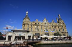 Haydarpasa Railway Station Royalty Free Stock Photo