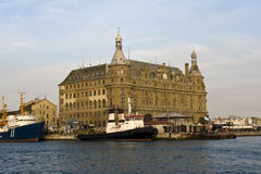 Haydarpasa railway station Stock Images